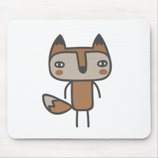 Mr Fox Mouse Pad