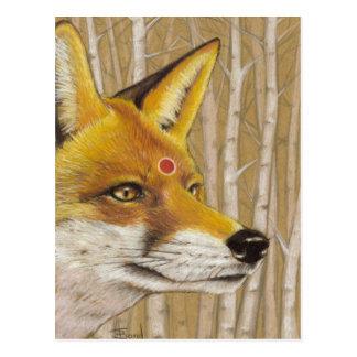 Mr Fox Postcard