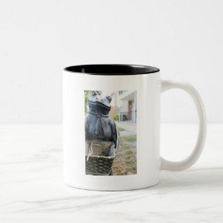 Mr. Frog Two-Tone Coffee Mug