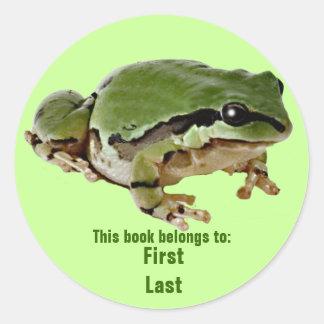 Mr. Froggie Round Sticker