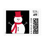 Mr. Frosty Postage Stamps