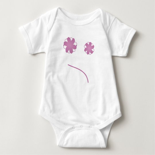 Mr Frownie Baby Bodysuit