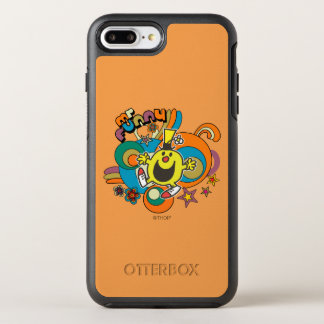 Mr. Funny   Colorful Stars & Swirls OtterBox Symmetry iPhone 7 Plus Case