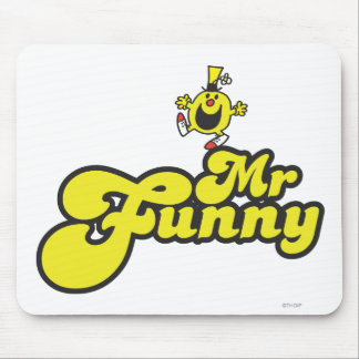 Mr. Funny Dancing On His Name Mouse Pad