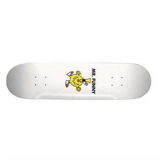 Mr. Funny   Funny Face Skate Board Decks