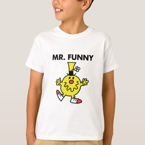 Mr Funny  Funny Face T_Shirt