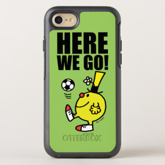 Mr. Funny Juggling A Soccer Ball OtterBox Symmetry iPhone 7 Case