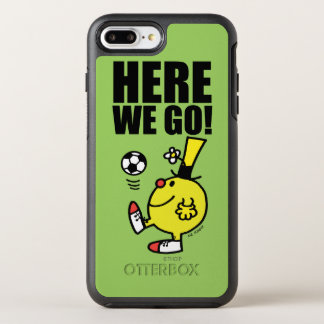 Mr. Funny Juggling A Soccer Ball OtterBox Symmetry iPhone 7 Plus Case