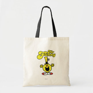Mr. Funny Laughing Hysterically Tote Bag