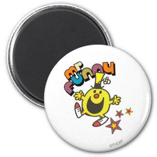 Mr. Funny | Shining Stars 2 Inch Round Magnet