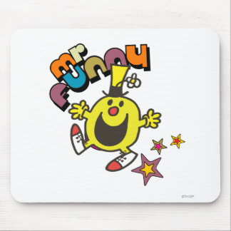 Mr. Funny | Shining Stars Mouse Pad