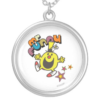 Mr. Funny | Shining Stars Round Pendant Necklace