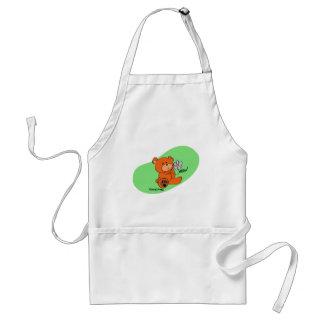 Mr. Get Better Bear Adult Apron