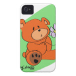 Mr. Get Better Bear iPhone 4 Cases