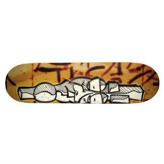 Mr. Gherkin head Skateboard Deck