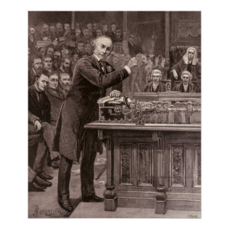 Mr. Gladstone Poster
