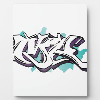 MR GRAffiti Plaque