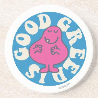 Mr. Greedy | Greed Is Good Drink Coaster