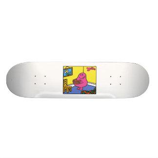 Mr. Greedy | Living Room Eating Skateboard Decks