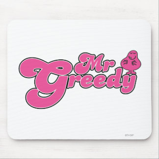 Mr. Greedy Standing Around Mouse Pad