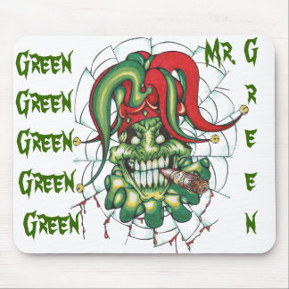 Mr. Green Mouse Pad