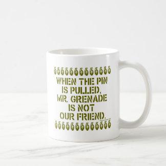 Mr Grenade Mugs