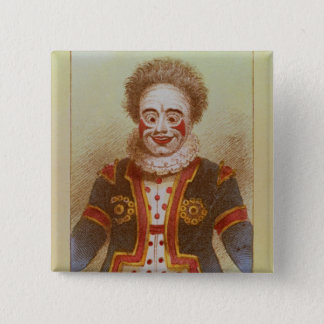 Mr Grimaldi as Clown Pinback Button
