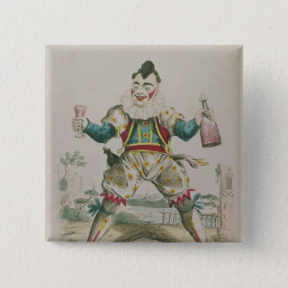 Mr. Grimaldi as Clown Pinback Button