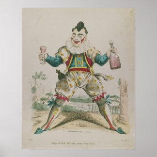 Mr. Grimaldi as Clown Posters