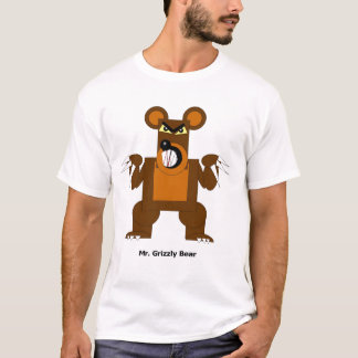 Mr. Grizzly Bear T-Shirt