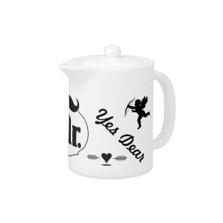 Mr. Groom Mustache Teapot