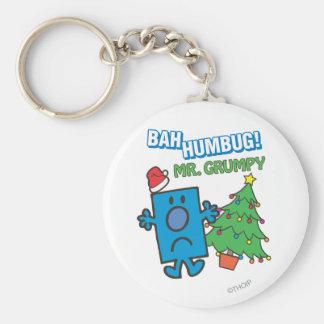 Mr. Grumpy | Bah Humbug Keychain