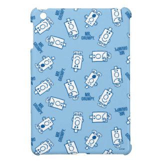 Mr Grumpy | Blue Emotion Toss Pattern iPad Mini Covers