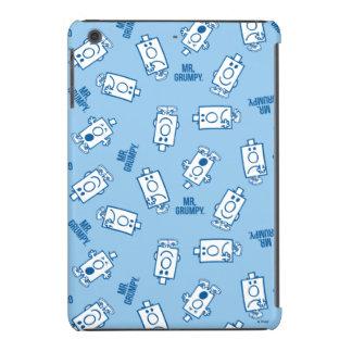 Mr Grumpy | Blue Emotion Toss Pattern iPad Mini Retina Case