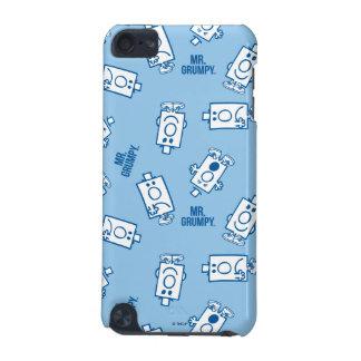 Mr Grumpy | Blue Emotion Toss Pattern iPod Touch (5th Generation) Case