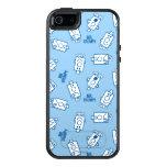 Mr Grumpy | Blue Emotion Toss Pattern OtterBox iPhone 5/5s/SE Case