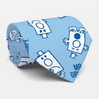 Mr Grumpy | Blue Emotion Toss Pattern Tie