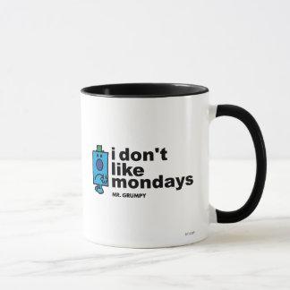 Mr. Grumpy Does Not Like Monday Mug