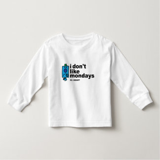 Mr. Grumpy Does Not Like Monday Toddler T-shirt