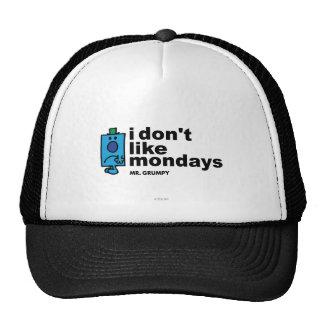 Mr. Grumpy Does Not Like Monday Trucker Hat