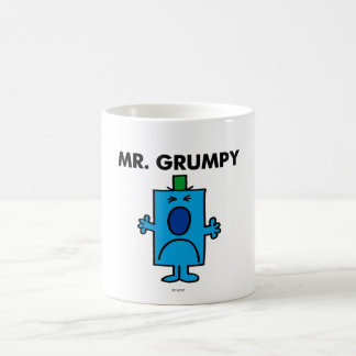 Mr. Grumpy | Frowning Face Coffee Mug