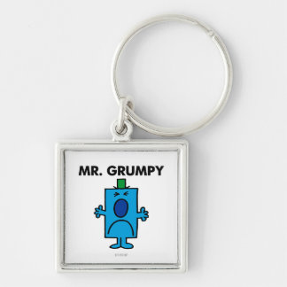 Mr. Grumpy | Frowning Face Keychain
