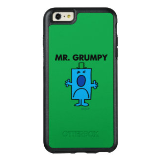 Mr. Grumpy | Frowning Face OtterBox iPhone 6/6s Plus Case