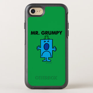 Mr. Grumpy | Frowning Face OtterBox Symmetry iPhone 7 Case