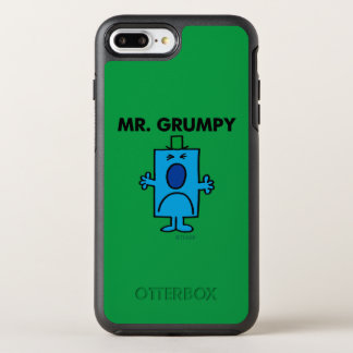 Mr. Grumpy | Frowning Face OtterBox Symmetry iPhone 7 Plus Case