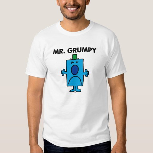 Mr. Grumpy Frowning Face Tees
