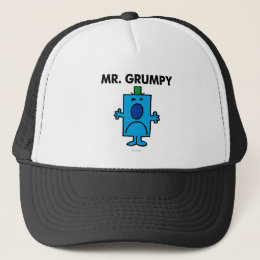 Mr. Grumpy | Frowning Face Trucker Hat
