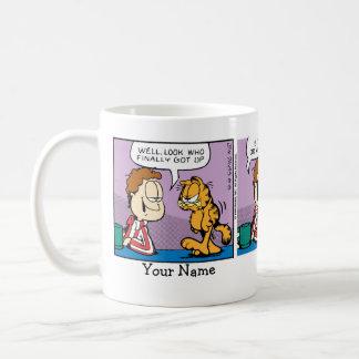 """Mr. Grumpy"" Garfield Comic Strip Coffee Mug"