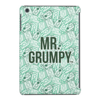Mr Grumpy | Green Name and Character Toss Pattern iPad Mini Cases