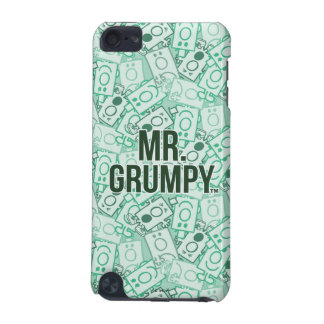 Mr Grumpy | Green Name and Character Toss Pattern iPod Touch 5G Cases